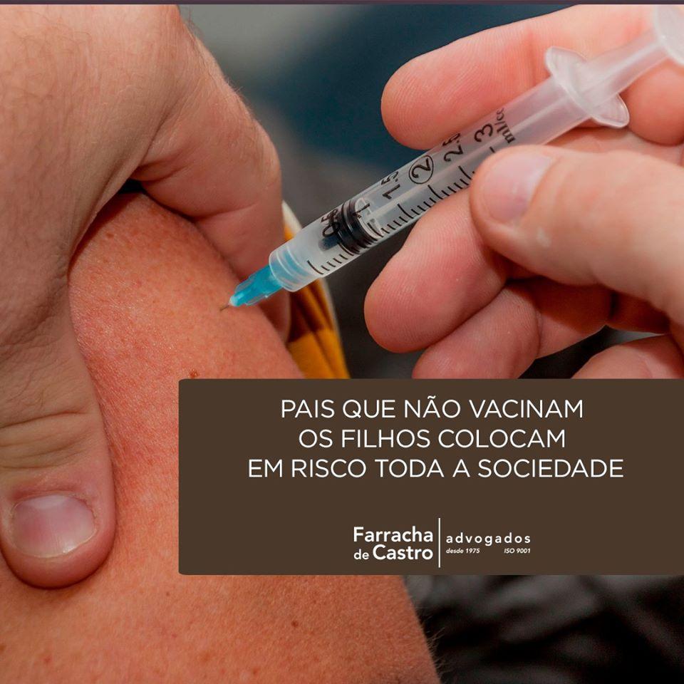 pais que não vacinam filhos