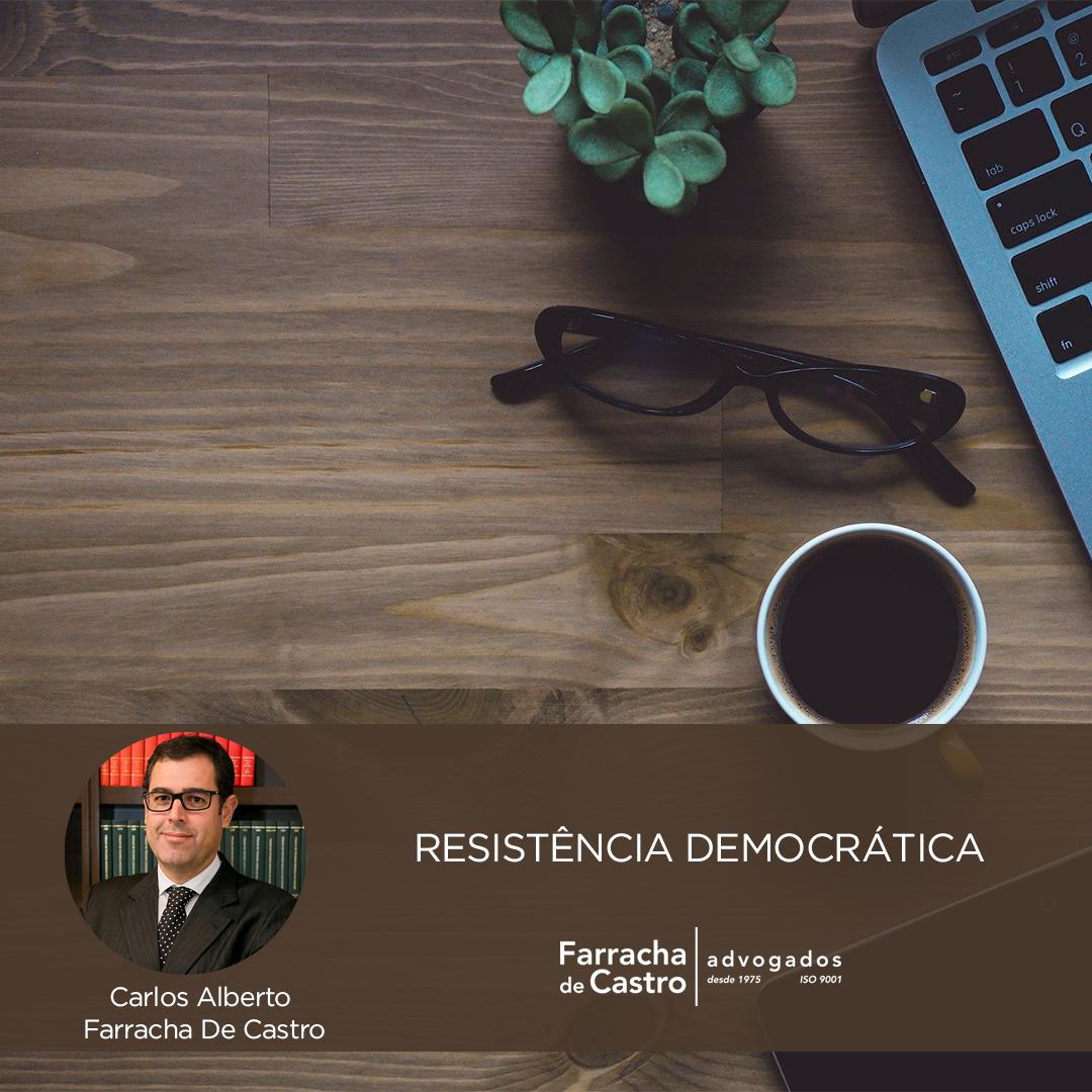 resistência democrática glenn greenwald